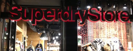 Superdry Store is one of Barcelona.