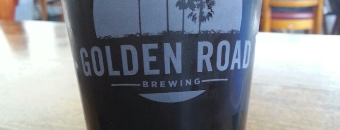 Golden Road Brewing is one of West Coast Breweries.