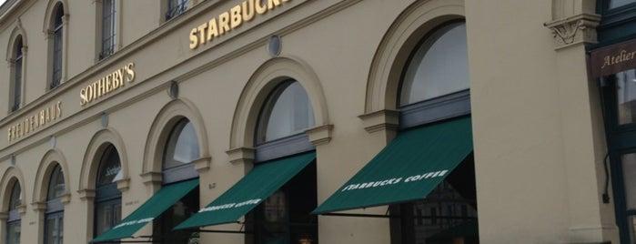 Starbucks is one of S.Kobzeff: сохраненные места.