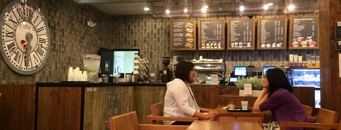 Caffe Bene Glenview is one of Chicago cafes.