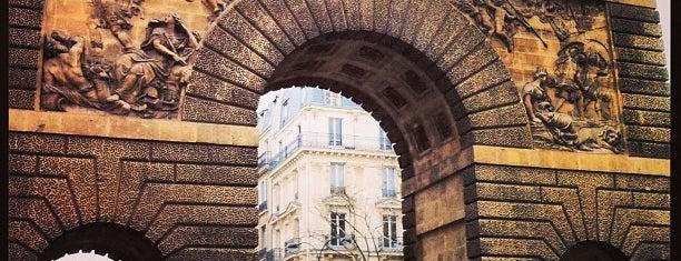 Porte Saint-Martin is one of Paris.