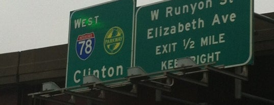 Interstate 78 is one of New Jersey highways and crossings.
