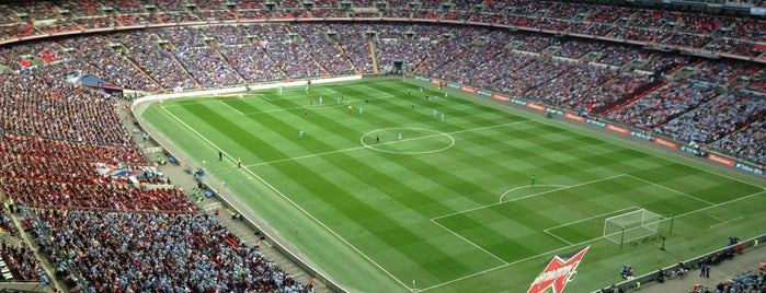 Wembley Stadium is one of The Great Football Pilgrimage.