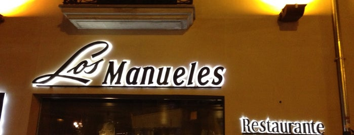 Restaurante Los Manueles is one of Locais curtidos por Frank.