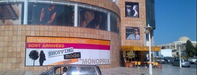MONOPRIX - El Menzah 6 is one of merKKur🌃'ın Kaydettiği Mekanlar.