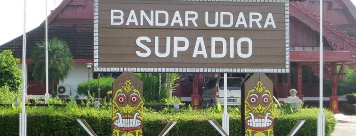 Supadio International Airport (PNK) is one of Part 1~International Airports....