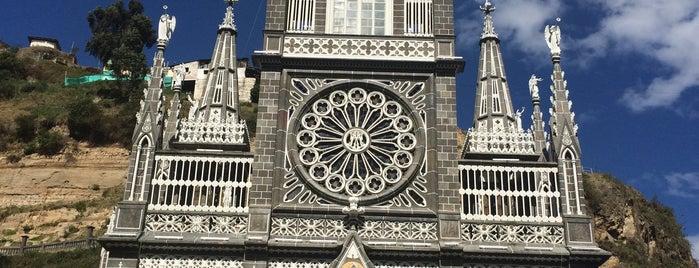 Santuario Nuestra Señora De Las Lajas is one of Americas.