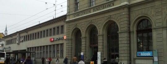 Bahnhof Schaffhausen is one of Lugares favoritos de Amit.