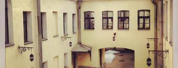 Факультет свободных искусств и наук СПбГУ is one of Masha : понравившиеся места.