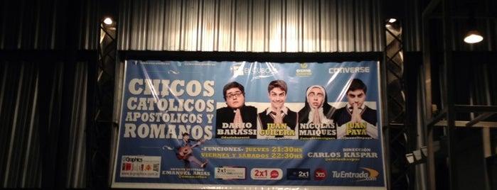 Teatro El Cubo is one of Posti che sono piaciuti a Sandra.