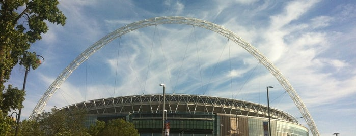 Wembley Stadium is one of London Calling.
