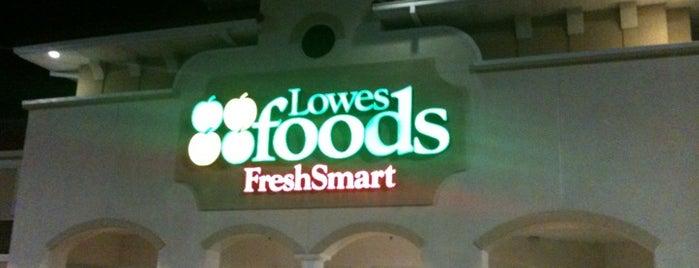 Lowes Foods is one of Orte, die Jason gefallen.