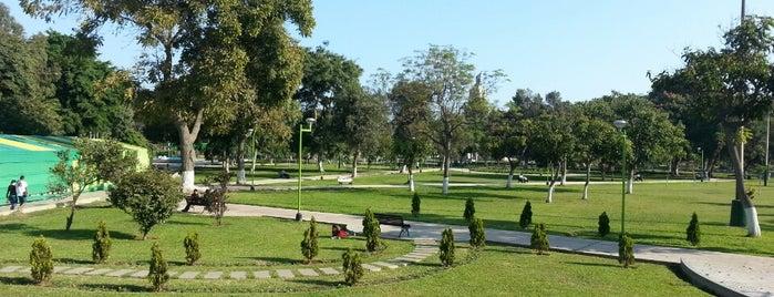 Campo de Marte is one of Lima.