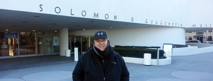 Solomon R Guggenheim Museum is one of Trip to New York City.