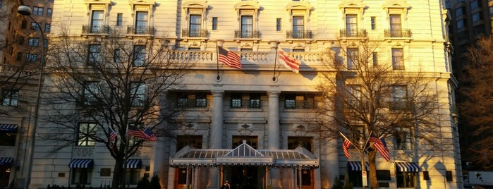 The Willard InterContinental Washington D.C. Hotel is one of Lieux qui ont plu à J..