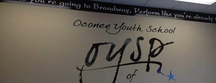 Oconee Youth Playhouse is one of Locais curtidos por Staci.