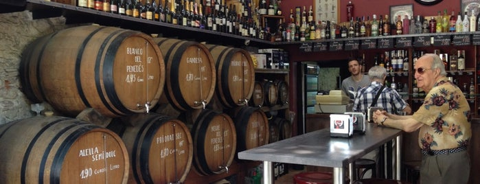 Bodega Vinito is one of Barcelona-Tips.