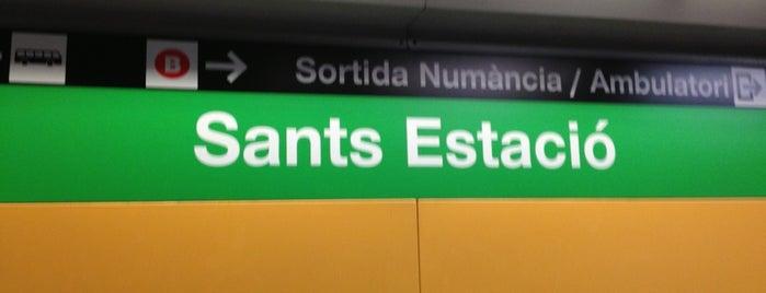 METRO Sants Estació is one of sitios.