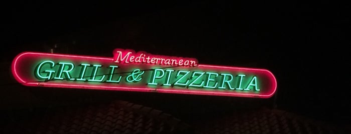 Mediterranean Grill & Pizzeria is one of My Favorite Spots.