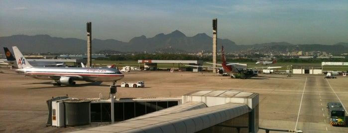 Rio de Janeiro–Galeão Uluslararası Havalimanı (GIG) is one of Official airport venues.