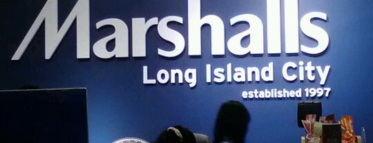 Marshalls is one of Rugi's New York.