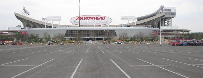 Arrowhead Stadium is one of Sports Stadiums/Arenas/Parks.