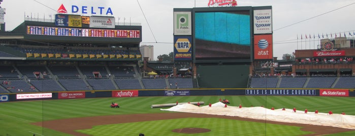Turner Field is one of Sports Stadiums/Arenas/Parks.