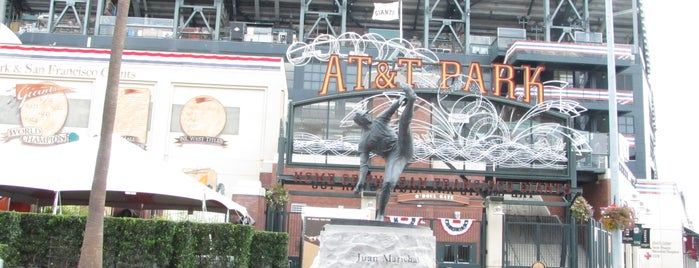 Oracle Park is one of Sports Stadiums/Arenas/Parks.