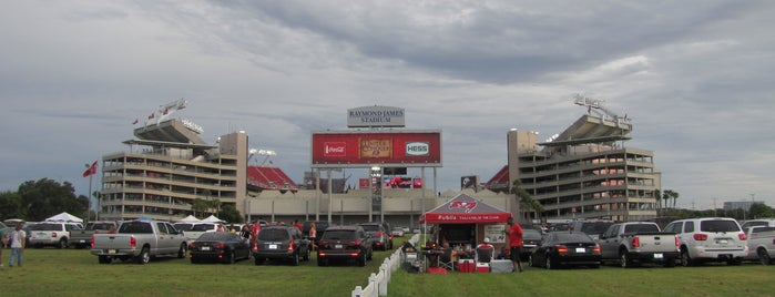 Raymond James Stadium is one of Sports Stadiums/Arenas/Parks.