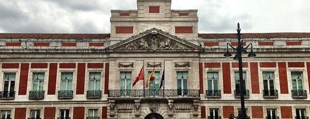 Puerta del Sol is one of Madrid 2015.