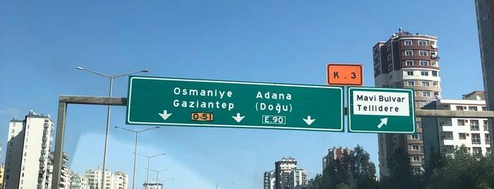 Adana-Ceyhan Yolu is one of Locais curtidos por Yılmaz.