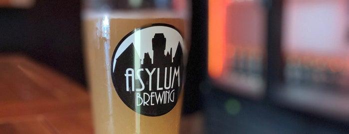 Asylum Brewing is one of Orange County.