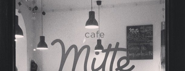 Mitte is one of My wine's spots.