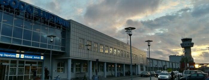 Aeropuerto de Bodø (BOO) is one of Free WiFi Airports 2.