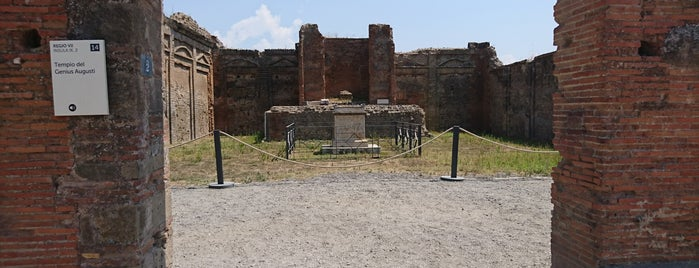 Tempio della Fortuna Augusta is one of Alexandrさんのお気に入りスポット.