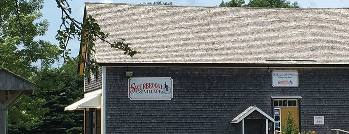 Sherbrooke Village is one of Tempat yang Disimpan David.