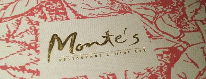 Monte's Restaurant Bar & Grill is one of Eat❷.