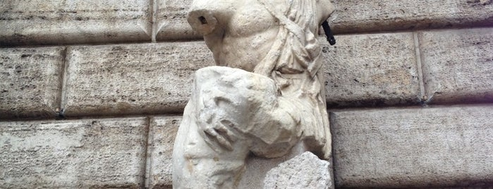 Statua di Pasquino is one of ROME - ITALY.