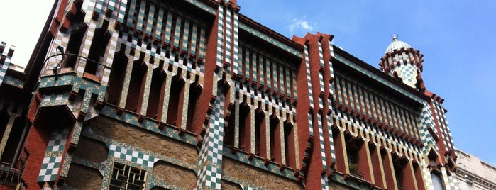 Casa Vicens is one of Barcelona: culture, Tapas and Wines.