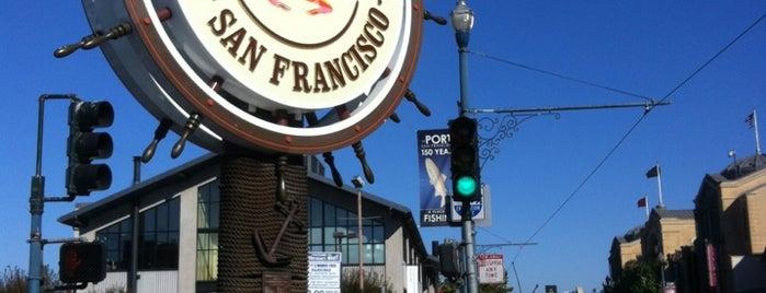 Fisherman's Wharf is one of San Francisco Bay.