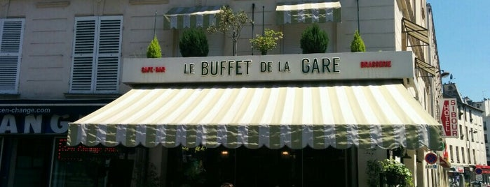 Le Buffet de la Gare is one of Claudia 님이 저장한 장소.