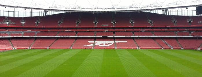 Emirates Stadium is one of The Great Football Pilgrimage.