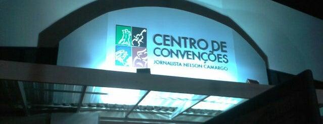 "Centro de Convenções ""Jornalista Nelson Camargo"" is one of Tempat yang Disukai Raphaël."