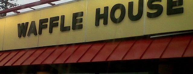 Waffle House is one of Cinci Work Food.