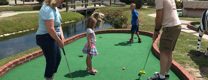 River Country Mini Golf is one of ocean isle.