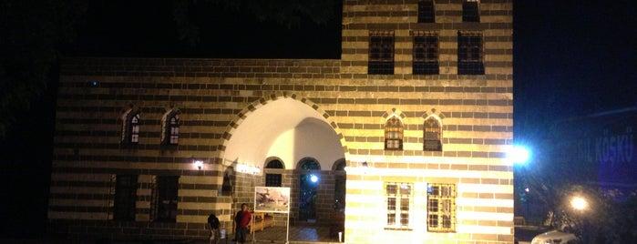 Erdebil Köşkü is one of Diyarbakir.