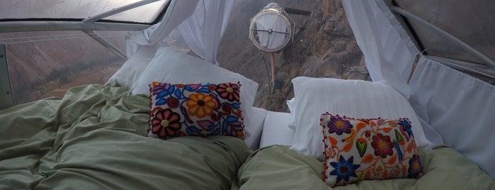 Natura Vive Skylodge Adventure Suites is one of Peru.