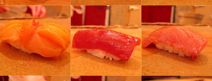 Sushi Saito is one of To-do Food.