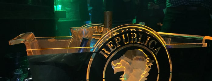República is one of Mexico-city.