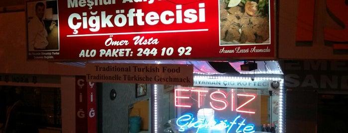 Adıyaman Çiğköftecisi is one of Gittiğim ve gideceğim yerler.